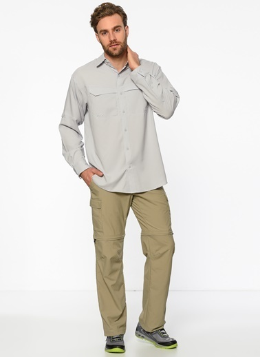 Columbia Uzun Kollu Gömlek Gri